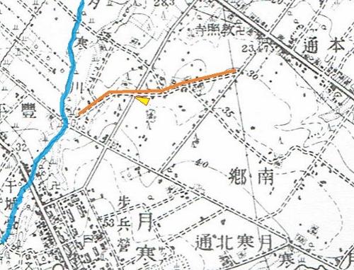 大正5年地図 フレンド公園周辺