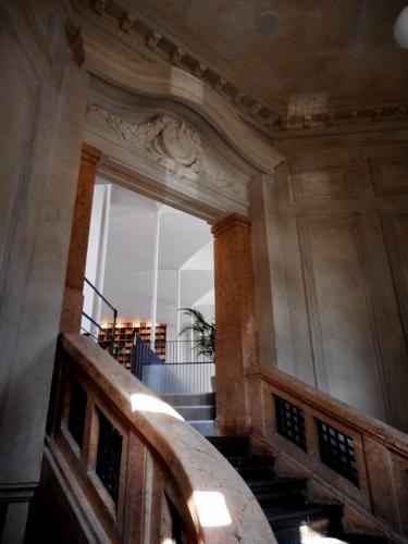北菓楼 階段室 装飾