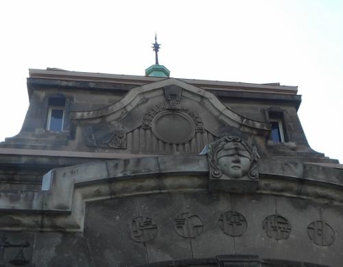 旧札幌控訴院 ファサード上部装飾