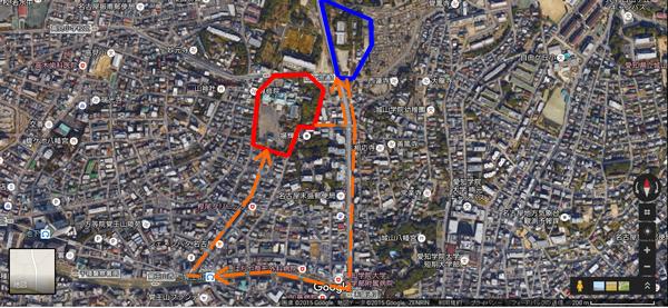 覚王山日泰寺周辺地図
