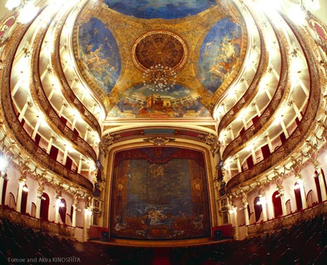 Teatro Amazonas(C)Akira KINOSHITA for blog
