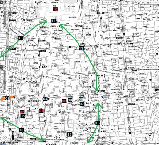 02名古屋都市圏近未来マップ 栄伏見