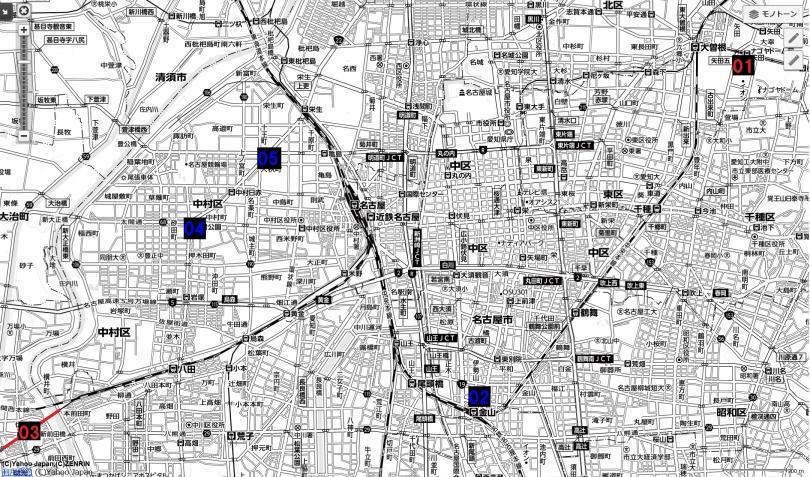 03名古屋都市圏近未来マップ 名古屋都心広域