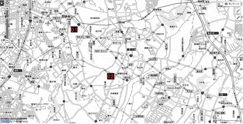 08名古屋都市圏近未来マップ 日進東郷