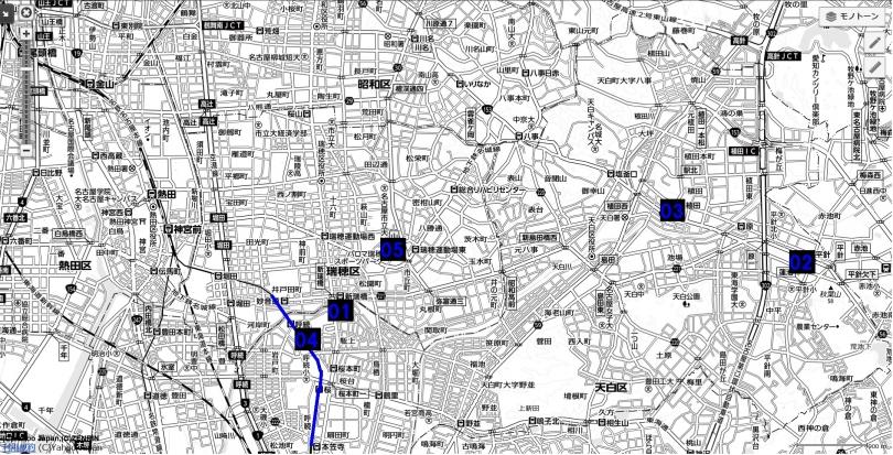 06名古屋都市圏近未来マップ 名古屋市南部郊外エリア