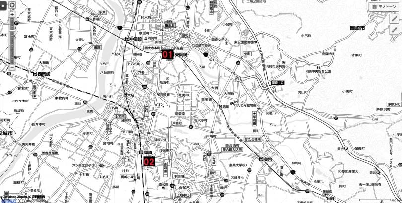 13名古屋都市圏近未来マップ 岡崎