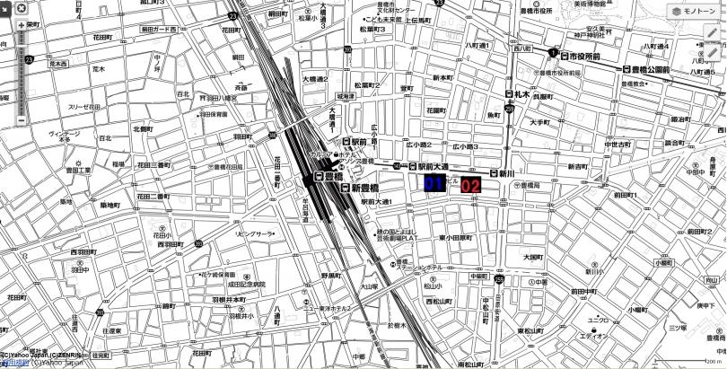 14名古屋都市圏近未来マップ 豊橋