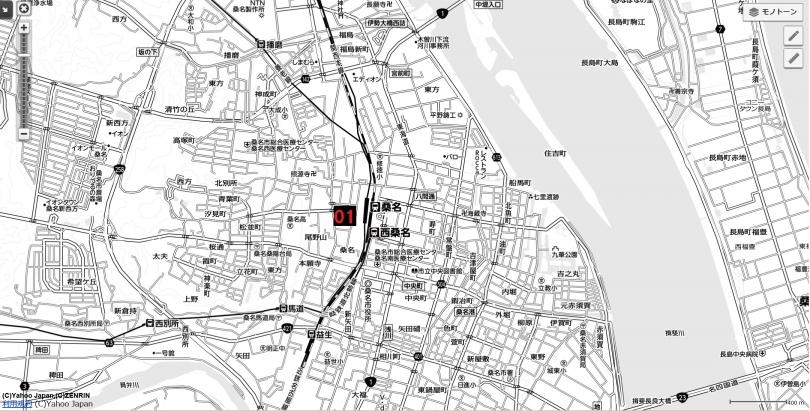 18名古屋都市圏近未来マップ 桑名