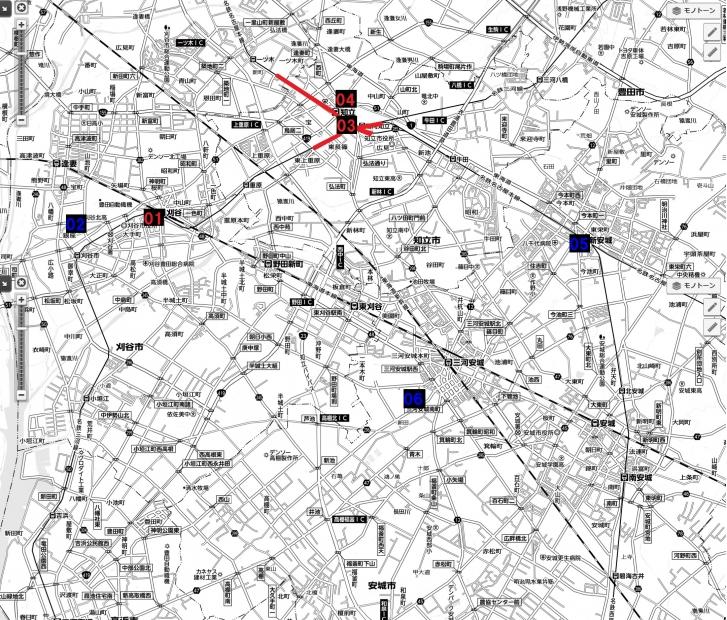 12名古屋都市圏近未来マップ 刈谷知立安城