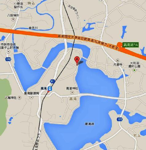 日本千葉県市原市養老 高滝湖 - Google マップ-40001-2