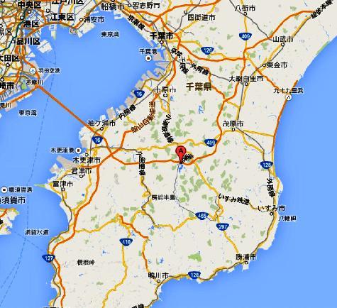 日本千葉県市原市養老 高滝湖 - Google マップ0001-2