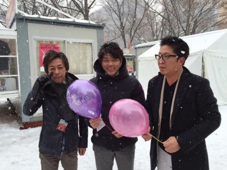 札幌雪まつり 北方領土返還要求署名活動 (2)