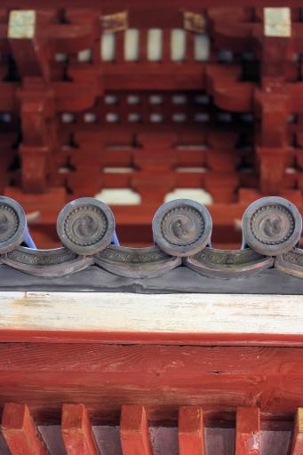西國寺の三重塔