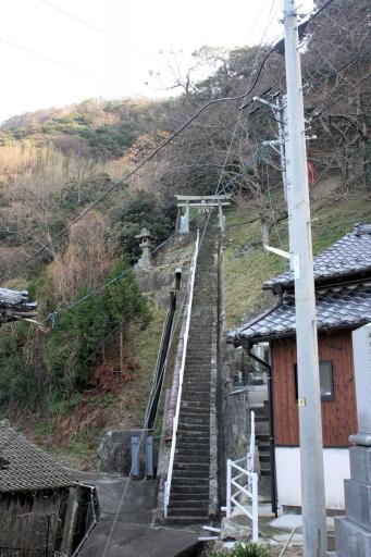田々神社参道