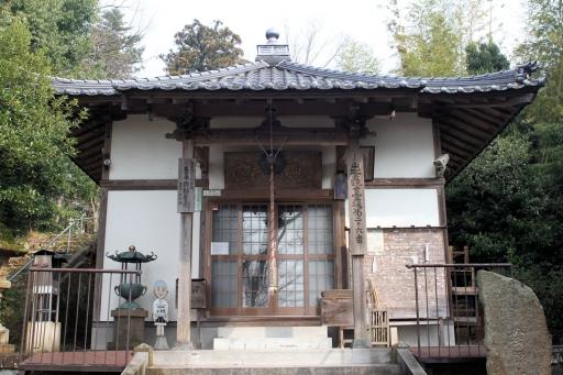 千手院境内の小倉寺