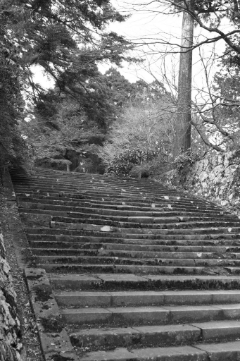 華蔵寺の石段