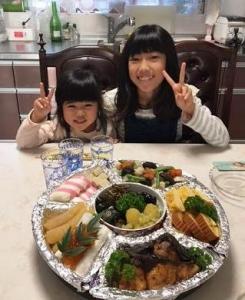孫とお節料理1
