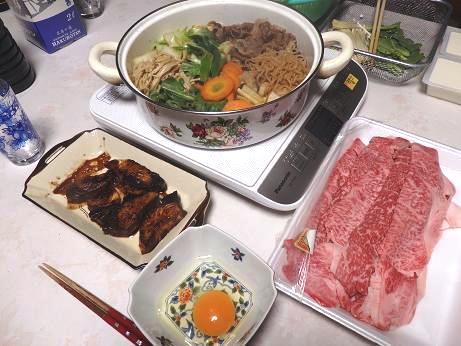 3日の夕食