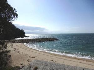 観音崎の海辺1