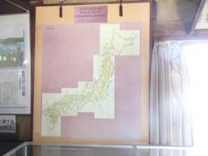 伊能忠敬測量日本全図