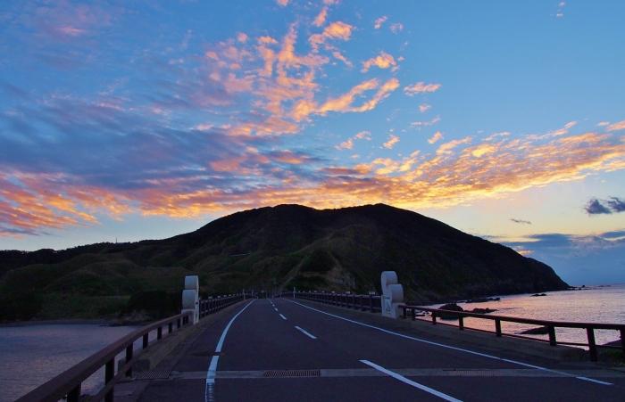 鹿の子大橋夕景