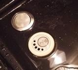 お風呂のボタン