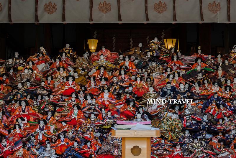 淡嶋神社 雛人形