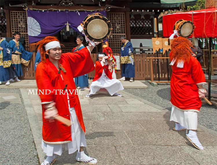 玄武神社 やすらい祭