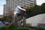 神戸市営住宅・ベルデ名谷 入口附近