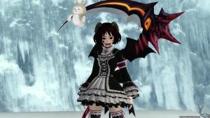PSO2 悪魔風ファッション