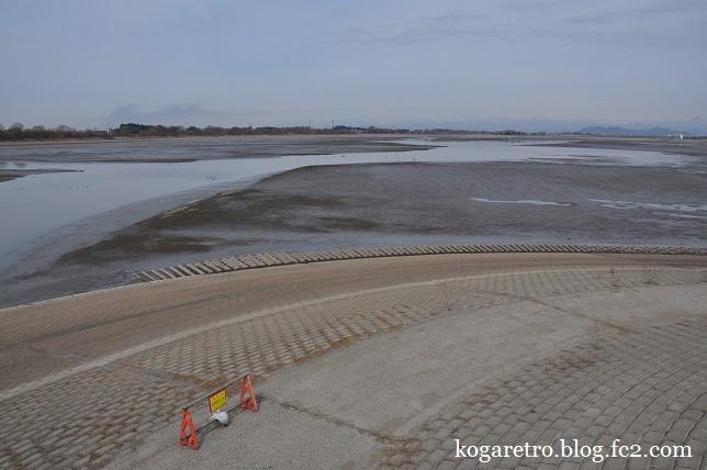 谷中湖の干し上げ(4)2