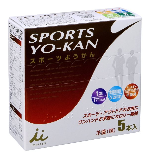 井村屋スポーツ羊羹