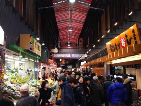 近江町市場2015年末