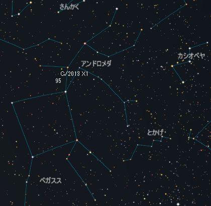C2013X1_パンスターズ彗星_20151219_iti