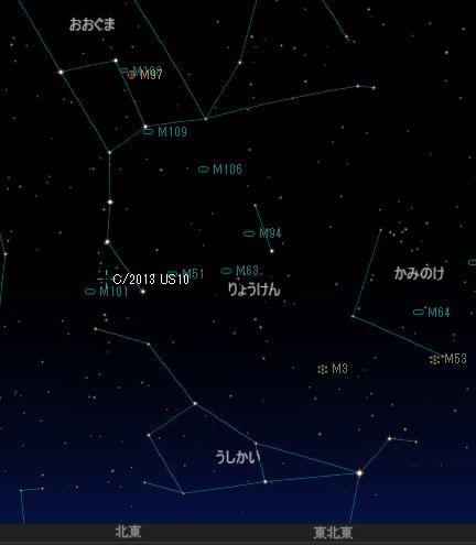 C2013US10_カタリナ彗星_20160116_iti