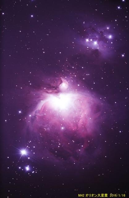 M042_オリオン大星雲_20160116M_060084x24B