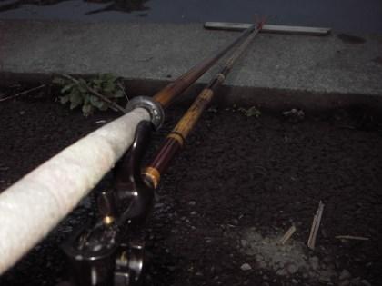 13尺バランスの釣り