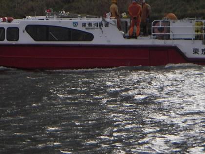 臨港消防庁のダイバー