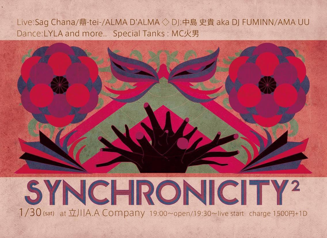 1/30@立川A.A.company   synchronicity #2