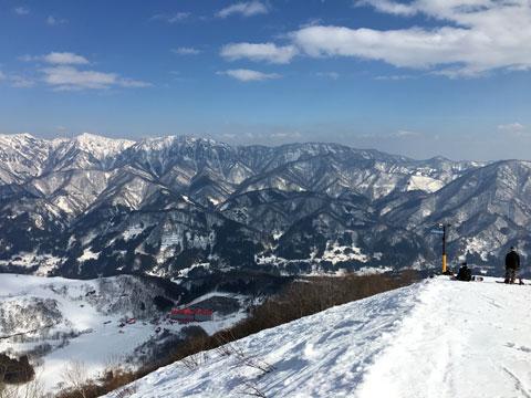 稗田山コース3からの眺め
