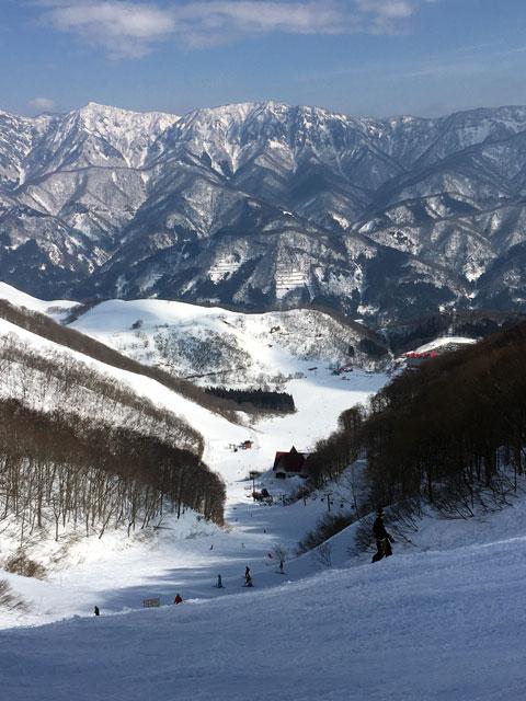 稗田山コース1からの眺め