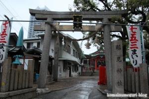 鶴見神社(鶴見区鶴見)1