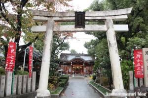 比枝神社(鶴見区今津中)2
