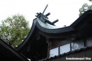 比枝神社(鶴見区今津中)10