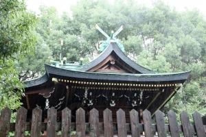 阿遅速雄神社(鶴見区放出)10