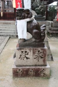 阿遅速雄神社(鶴見区放出)11