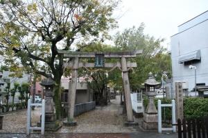 諏訪神社(城東区諏訪)1