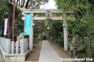 等乃伎神社(高石市取石)3