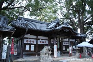 鋸尾八幡神社(堺市西区津久野町)7