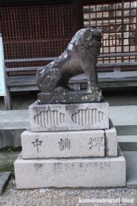 百舌鳥八幡宮(堺市北区百舌鳥梅町)15
